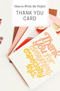 8 best how to write better greeting card messages images on how to write the perfect thank you note m4hsunfo