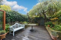 4 bedroom terraced house for sale in Bushwood Road - Rightmove. Garden Bridge, Property For Sale, Terrace, Garden Ideas, Deck, Outdoor Structures, Patio, Outdoor Decor, Pictures