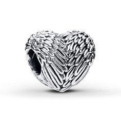 PANDORA Charm Angelic Feathers Sterling Silver