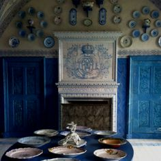 Old Swedish kitchen at Drottningholm Palace.