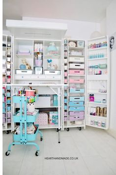 Watch the video and peek inside the new DreamBox from The Original Scrapbox company AND inside my rainbow pastel craft room! Plus Poopers thinking she's a star. Drool over my organised craft supplies, these craft storage ideas are the best! If you're struggling to organize your craft supplies then you need to check out this Craft Storage Furniture!