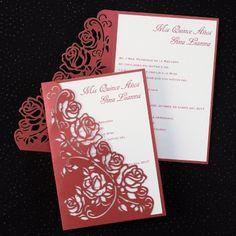 Regal Roses - Invitation | Printed Creations