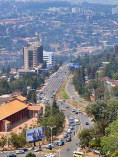 Geography- This is a picture of Kigali, Rwanda's capital city. Kigali is known as the cleanest city in Africa. It has a population of about 1 million. Kigali was the site of a mass genocide that took place in 1994 and killed around 800,000 people in the span of just 100 days. However, today Kigali is a relatively safe and sophisticated small city. Kigali receives many tourists each year that come to see Rwanda's gorillas.