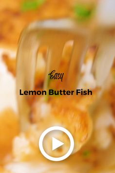 Easy Lemon Butter Fish by Chew Out Loud. This easy recipe only takes 20 minutes and a handful of ingredients. It's a delicious and nutritious white fish recipe. Pair with rice and vegetables for a hea Best Fish Recipes, White Fish Recipes, Seafood Recipes, Best Fish Recipe Ever, Easy Filipino Recipes, Free Recipes, Easy Recipes, Chicken Recipes, Healthy Weeknight Dinners