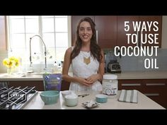 WATCH: A DIY makeup remover, mascara, and body scrub—what can't coconut oil NOT do?