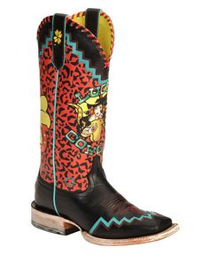 Ariat Quincy Kris Cowgirl Boots - Square Toe