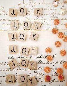joy..