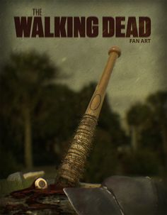 Based on the series and the comic The Walking Dead , I created this poster and taking advantage did some studies on fluids . Maybe that images content s. The Walking Dead - Negan is coming. Walking Dead Fan Art, Walking Dead Show, Walking Dead Funny, Walking Dead Zombies, Walking Dead Season, Fear The Walking Dead, Daryl And Rick, Negan Lucille, Dead Inside