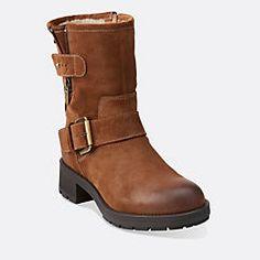 0d132063 Reunite Go Gtx Tan Leather - Women's Waterproof Boots - Clarks® Shoes Boots  Online,
