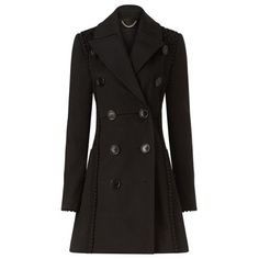Burberry Black Sateen Lace-trimmed Sculptured Trench Coat (3,890 CAD) ❤ liked on Polyvore featuring outerwear, coats, jackets, burberry, a-line coat, black trenchcoat, lace trench coat, burberry trenchcoat and a line trench coat