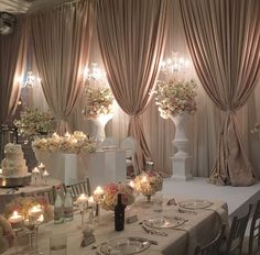 37 Ideas for wedding reception hall decorations ceiling draping Wedding Receptions, Wedding Ceremony, Wedding Reception Halls, Reception Ideas, Wedding Centerpieces, Elegant Centerpieces, Classy Wedding Decorations, Classy Wedding Ideas, Wedding Ceiling Decorations