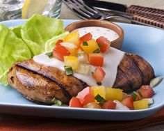 Grilled Chicken and Tomato Salad with Balsamic Vinaigrette