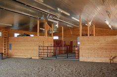 Indoor Riding Arena - (Brian H. Brothers; architect) see more at brianhbrothersaia.com