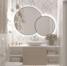 Washroom Design, Bathroom Design Luxury, Modern Bathroom Design, Small Elegant Bathroom, Bad Inspiration, Bathroom Inspiration, Home Decor Inspiration, Decor Ideas, Home Room Design