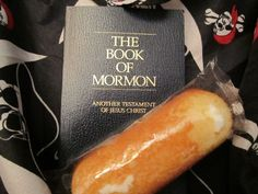 Like a twinkie the good stuff is inside...scripture treasure hunt activity...Mutual idea