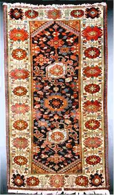 Persian Rugs: Karaghosli Rug This rug is a very old antique rug from the Hamadan region that I speculatively attribute to the Karaghosli. P.R.J. Ford cites the Karaghosli as one of the component tribes of the Horde of Hulagu son of Cingissi Qahan. That horde evolved into the IL Khanid dynasty. Part of the tribe went north and we know them as the Karagashli of Kuba. Another part settled near Hamadan where they weave rugs.