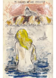 In dreams we are separated by Barbara Zsidek