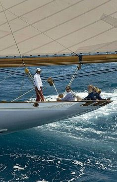 Sailing Yacht - Lulworth - by marc paris photo Classic Sailing, Classic Yachts, Yacht Design, Sailing Holidays, Yacht Boat, Sailboat Yacht, Sail Away, Set Sail, Paris Photos