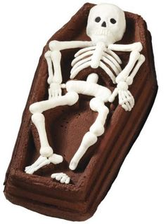 Wilton Skeleton In Casket Cake Pan
