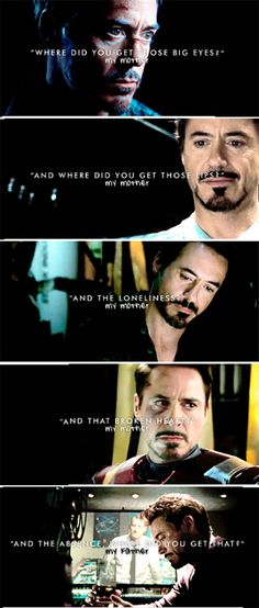 Where did you get...? #TonyStark