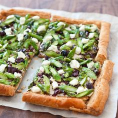Get the recipe: asparagus goat cheese tart Asparagus Tart, Asparagus Recipe, Cheese Tarts, Goat Cheese, Fontina Cheese, Kitchen Recipes, Cooking Recipes, Cooking Tips, Popsugar Food