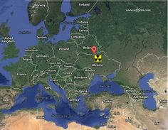 """Location of Ukraine and Chernobyl nuclear power plant on the Map of Europe.        Chernobyl – 30 years after the disaster (April 26, 1986). How it happened. ... 39  PHOTOS        ... Chernobyl accident is the one of two attributed to the highest 7 level of """"safety significance"""". It was was the most dangerous accident which took place in nuclear industry        More details:         http://softfern.com/NewsDtls.aspx?id=1086&catgry=2            #NSC"""