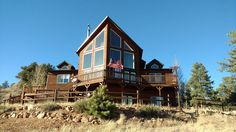 Cabin vacation rental in Florissant, CO, USA from VRBO.com! #vacation #rental #travel #vrbo