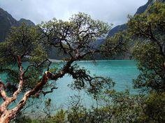 San Martin Peru  Laguna Azul