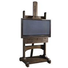Easel TV stand...I love it for my bedroom