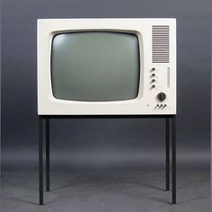 Braun FS 60 TV, designed by Herbert Hirche and Dieter Rams in 1960