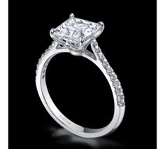 Cushion Modified 2.02 Carat SI1 14k White Gold Vatche Engagement Rings Serenity Collection by Vatche-1519