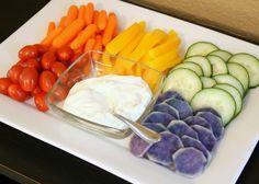 Rainbow food ideas