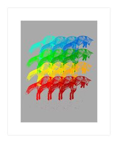 Leaping Rainbow Art Print