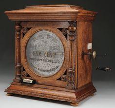 Regina coin operated music box
