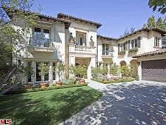 Get the look of Britney Spears' Beverley Hills home - get the look with Charles Parsons Interiors fabrics!