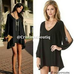 Chiffon Top Long Sleeve Casual Black Blouse XL Women's Loose Chiffon Top Long Sleeve Casual Black Blouse   Item Size: XL  ➡  ➡ Please see pic for Measurements  Color:  black (same as picture shows) Fabric: chiffon Garment Care: Hand Wash Elastisity: NO Elasticity Fittness: loose Fitting Item is lined. Soft, silky liner underneath. Nice Ever LTD Tops Blouses