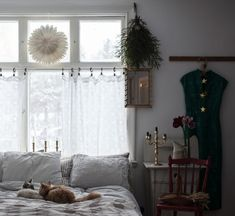🌟Tante S!fr@ loves this📌🌟my scandinavian home: A Cosy, Rural Swedish Country Home At Christmas Country House Interior, Country Farmhouse Decor, Living Room Decor, Bedroom Decor, Dining Room, Vintage Stil, Country Furniture, Scandinavian Home, Scandinavian Curtains