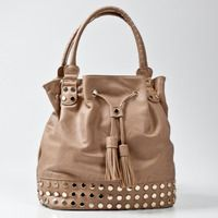 Brilliant Bag with Tassles and Studs.