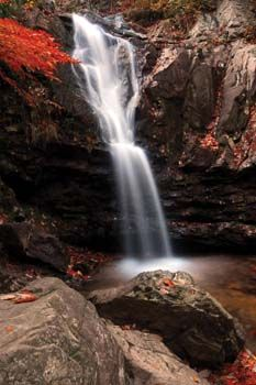 Peavine Falls at Oak Mountain State Park, Alabama   Photo by Jackson Echols
