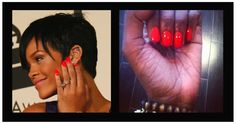 Celebrity Nail Inspiration: Bright, bold & sexy pops of color!