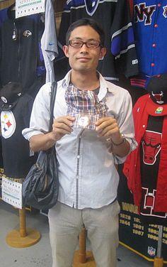 【新宿2号店】 2013年9月26日 秋冬カラーなワークキャップをお買い上げ頂いた、フジイ様♪ またのご来店をお待ちしてます★