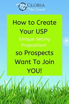 """What makes you and your business different and unique? If you're not sure, then you're probably not setting yourself apart from the competition - even other people in your own company. Which means you could be losing quite a few leads and sales, because other Network Marketers (with a more defined voice) are probably dominating the conversation and grabbing your potential prospects' limited attention. So how do you change this? Well, you need to create your """"unique selling proposition!"""""""