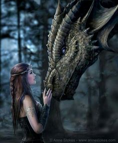Dragon and friend
