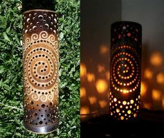 One well-known and timeless home component is the DIY bamboo handicraft. To realize the easy and unique DIY bamboo crafts that you want, one of the first steps Diy Bamboo, Bamboo Light, Bamboo Lamp, Bamboo Crafts, Bamboo Tree, Bamboo Ideas, Luminaria Diy, Luminaire Original, Bamboo Furniture