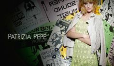 Patrizia Pepe OFFBEAT: foto e video della campagna P/E 2014