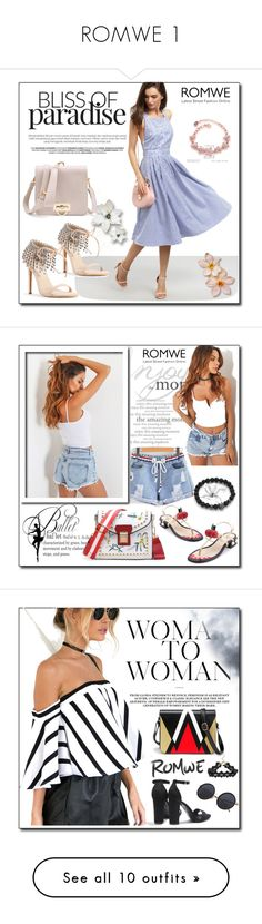 """""""ROMWE 1"""" by woman-1979 ❤ liked on Polyvore featuring WALL, Zara and Tiffany & Co."""