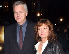 """In Susan Sarandon and Tim Robbins broke up after 23 years together. The couple began dating in 1988 after meeting on the set of """"Bull Durham"""" and have two children togehter. They never married. Never Married, Got Married, Rhea Perlman, Bull Durham, Tim Robbins, Danny Devito, Susan Sarandon, Famous Couples, Second Child"""