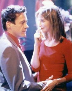 Ally McBeal Larry and Ally