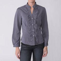 Hailey Jeans Co. Juniors Long Sleeve Chiffon Blouse Hailey Jeans Co.. $6.99