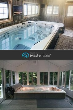 indoor pool alternative Small Indoor Pool, Indoor Swimming Pools, Swimming Pool Designs, Outdoor Pool, Small Pools, Lap Pools, Backyard Pools, Pool Decks, Pool Landscaping